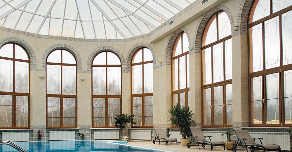 тепловой комфорт большие окна