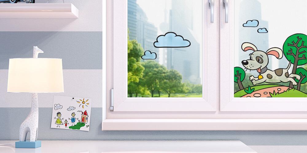 окна в детской