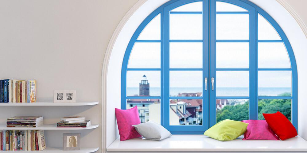 Красивые окна нестандартной формы