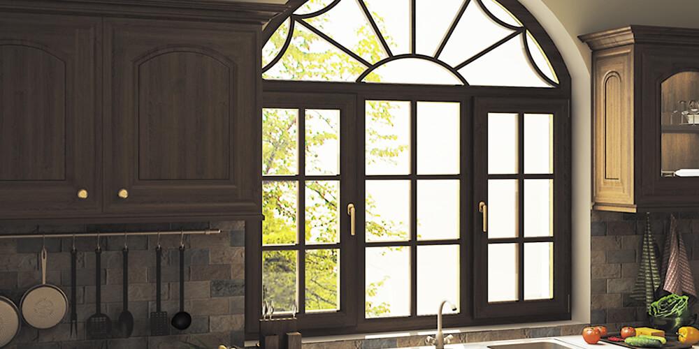 Пластиковые окна на кухню