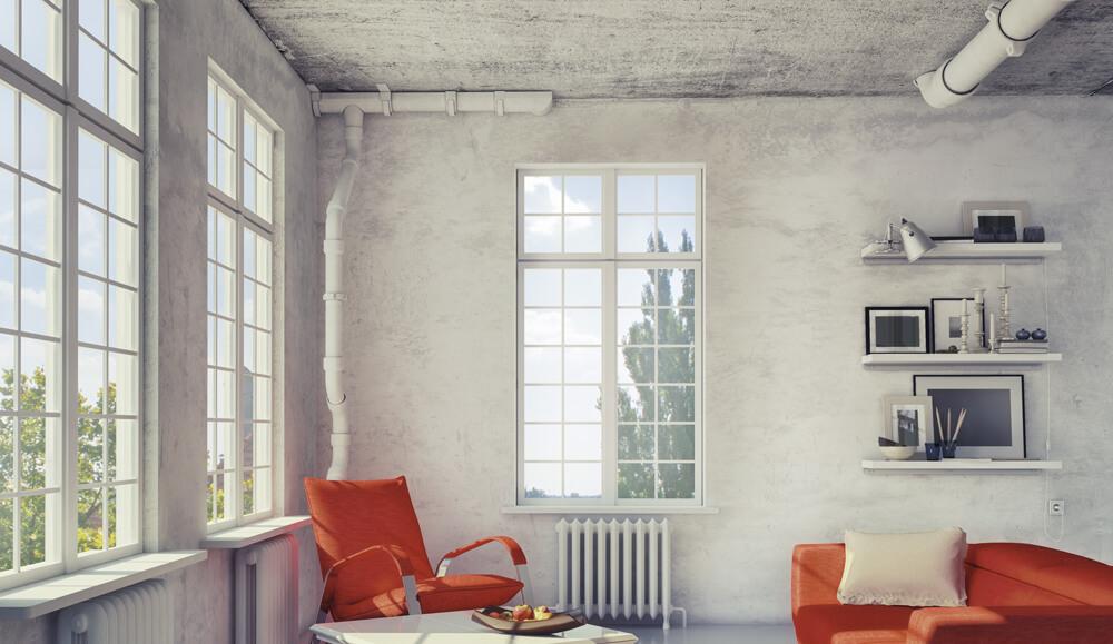 окна в стиле лофт